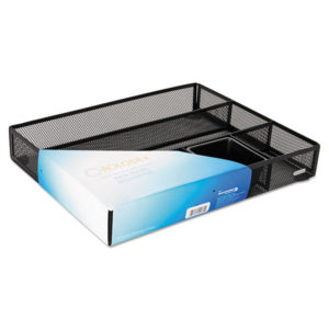 Rolodex™ Metal Mesh Deep Desk Drawer Organizer