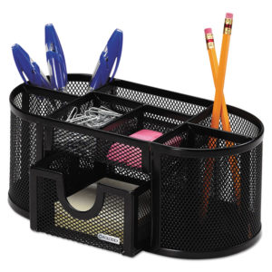Rolodex™ Mesh Oval Pencil Cup Organizer
