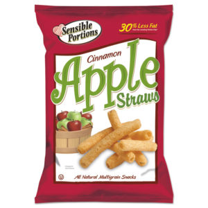 Sensible Portions Snacks Apple Straws