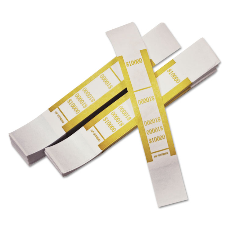 PM Company® Dark Yellow Currency Strap