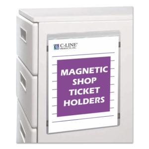 C-Line® Magnetic Shop Ticket Holder