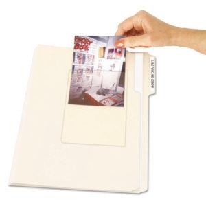 C-Line® Peel & Stick Photo Holders
