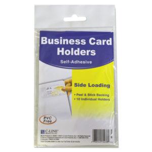 C-Line® Self-Adhesive Holders