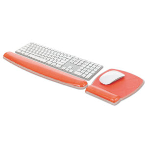 3M™ Fun Design Clear Gel Keyboard Wrist Rest