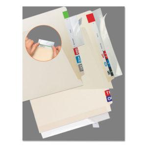Tabbies® Self-Adhesive Label/File Folder Protector