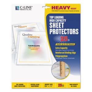 C-Line® High-Capacity Sheet Protector