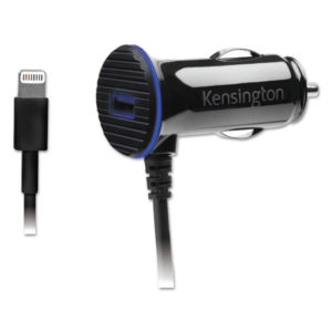Kensington® PowerBolt™ 3.4 Dual Port Fast Charge Car Charger
