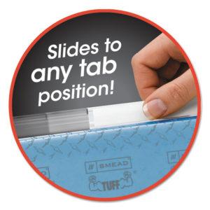 Smead® Easy Slide™ Hanging Folder Tab