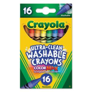 Crayola® Ultra-Clean Washable® Crayons