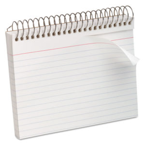 Oxford™ Spiral Bound Index Cards