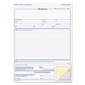 Adams® Contractor Proposal Form