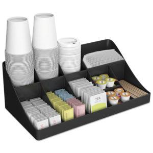 Mind Reader 11-Compartment Coffee Condiment Organizer