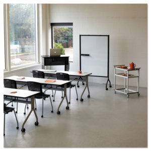 Safco® Impromptu® Whiteboard Collaboration Screen