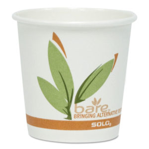Dart® Bare® by Solo® Eco-Forward® Recycled Content PCF Hot Cups