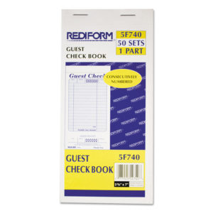 Rediform® Guest Check Book