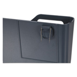 Universal® Deluxe Recycled Plastic Cubicle Single File Pocket