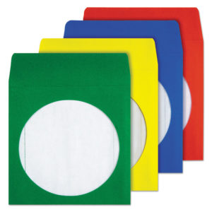 Quality Park™ Colored CD/DVD Paper Sleeves