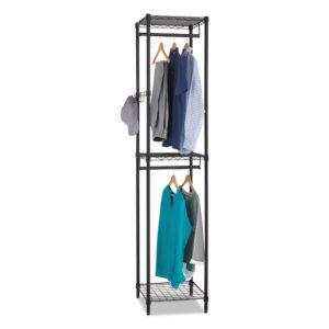 Alera® Wire Garment Tower