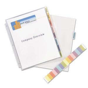Avery® Protect 'n Tab™ Tabbed Sheet Protectors