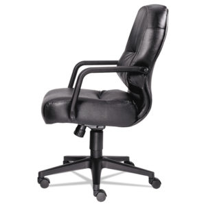 HON® Pillow-Soft® 2090 Series Leather Managerial Mid-Back Swivel/Tilt Chair
