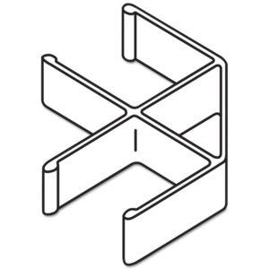 HON® Versé® Quick Connect 90° Connecting Hardware