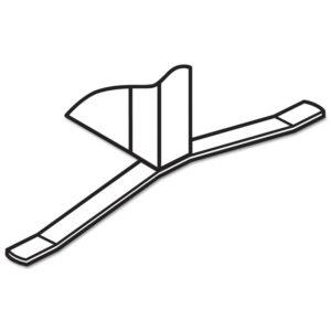 HON® Versé® T-Base Foot Connecting Hardware