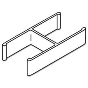 HON® Versé® QuickConnect 180° Connecting Hardware