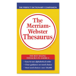 Merriam Webster® Thesaurus