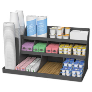 Mind Reader Extra Large Coffee Condiment and Accessory Organizer