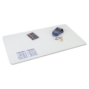 Artistic® KrystalView™ Desk Pad with Antimicrobial Protection