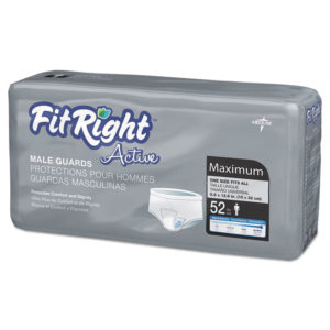 Medline FitRight® Active Male Guards