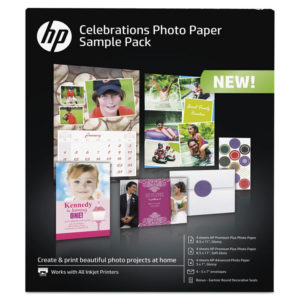 HP Celebration Photo Paper Sample Pack