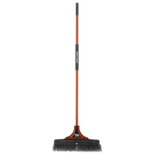 BLACK+DECKER Indoor/Outdoor Push Broom
