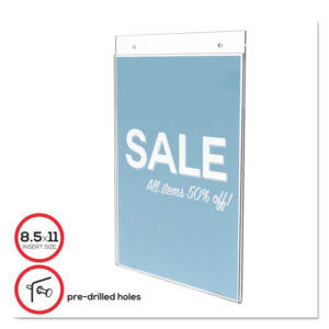 deflecto® Classic Image® Wall Sign Holder