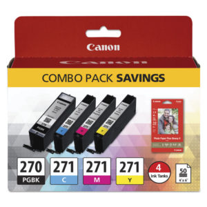 Canon® 0373C005 Ink & Paper Pack
