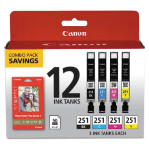 Canon® 6513B010 Ink & Paper Pack