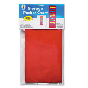 Carson-Dellosa Publishing Storage Pocket Chart