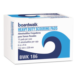 Boardwalk® Heavy-Duty Scour Pad