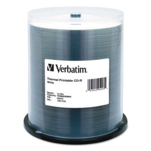 Verbatim® CD-R DataLifePlus Printable Recordable Disc