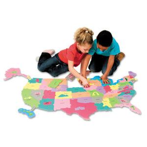 Creativity Street® WonderFoam® Giant U.S.A. Puzzle Map