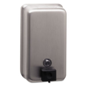 Bobrick ClassicSeries® Vertical Surface-Mounted Soap Dispenser