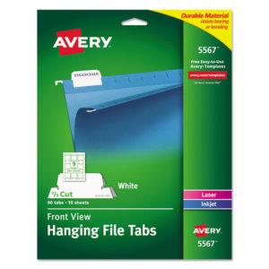 Avery® Printable Hanging File Tabs