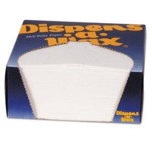 Dixie® Dispens-A-Wax® Waxed Deli Patty Paper