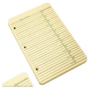 Wilson Jones® Looseleaf Phone/Address Book Refill