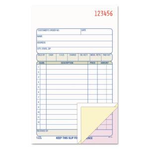Adams® Sales/Order Book