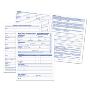 TOPS™ Comprehensive Employee Application Form