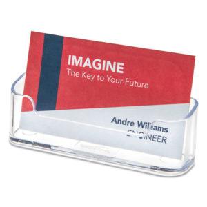 deflecto® Horizontal Business Card Holder