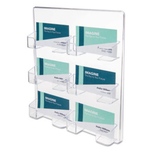 deflecto® Business Card Holders