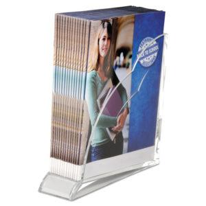 Swingline® Stratus™ Acrylic Magazine Rack