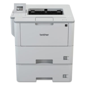 Brother HL-L6400DWT Business Laser Printer with Dual Trays for Mid-Size Workgroups with Higher Print Volumes